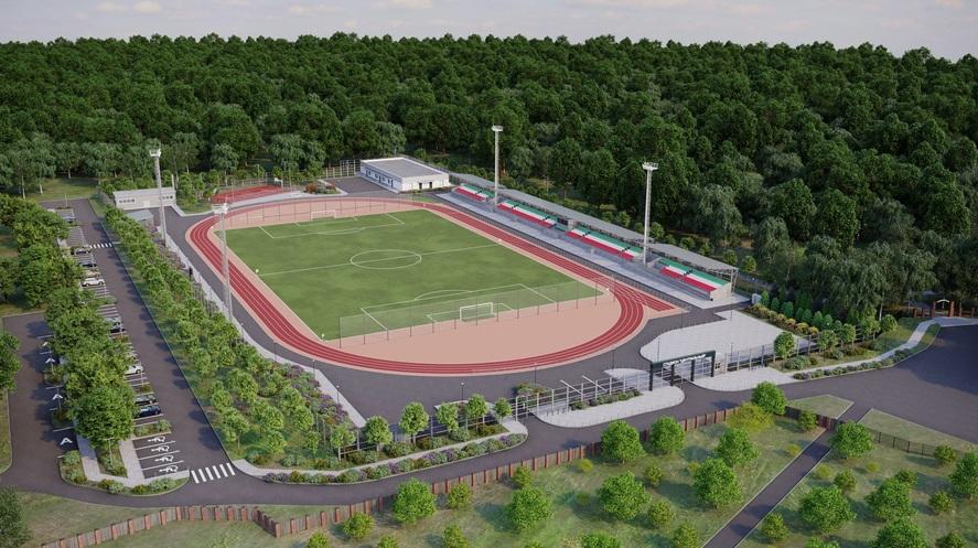 Центральный стадион в Волоколамске реконструируют в 2023 году
