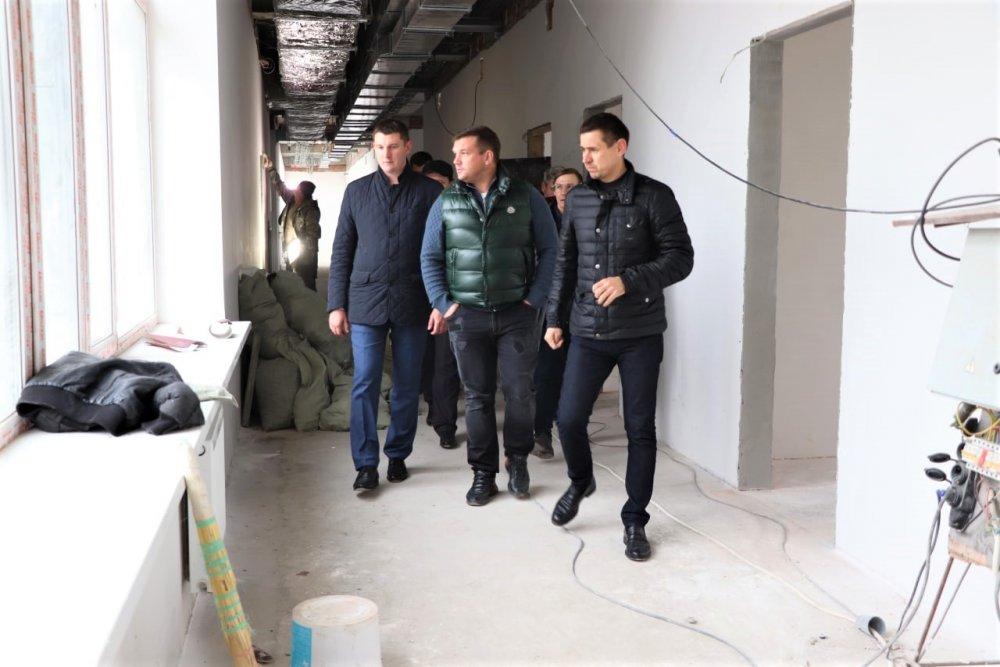 С рабочим визитом посетил министр стройкомплекса Подмосковья Павловский Посад